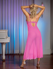 Pretty In Pink Gown