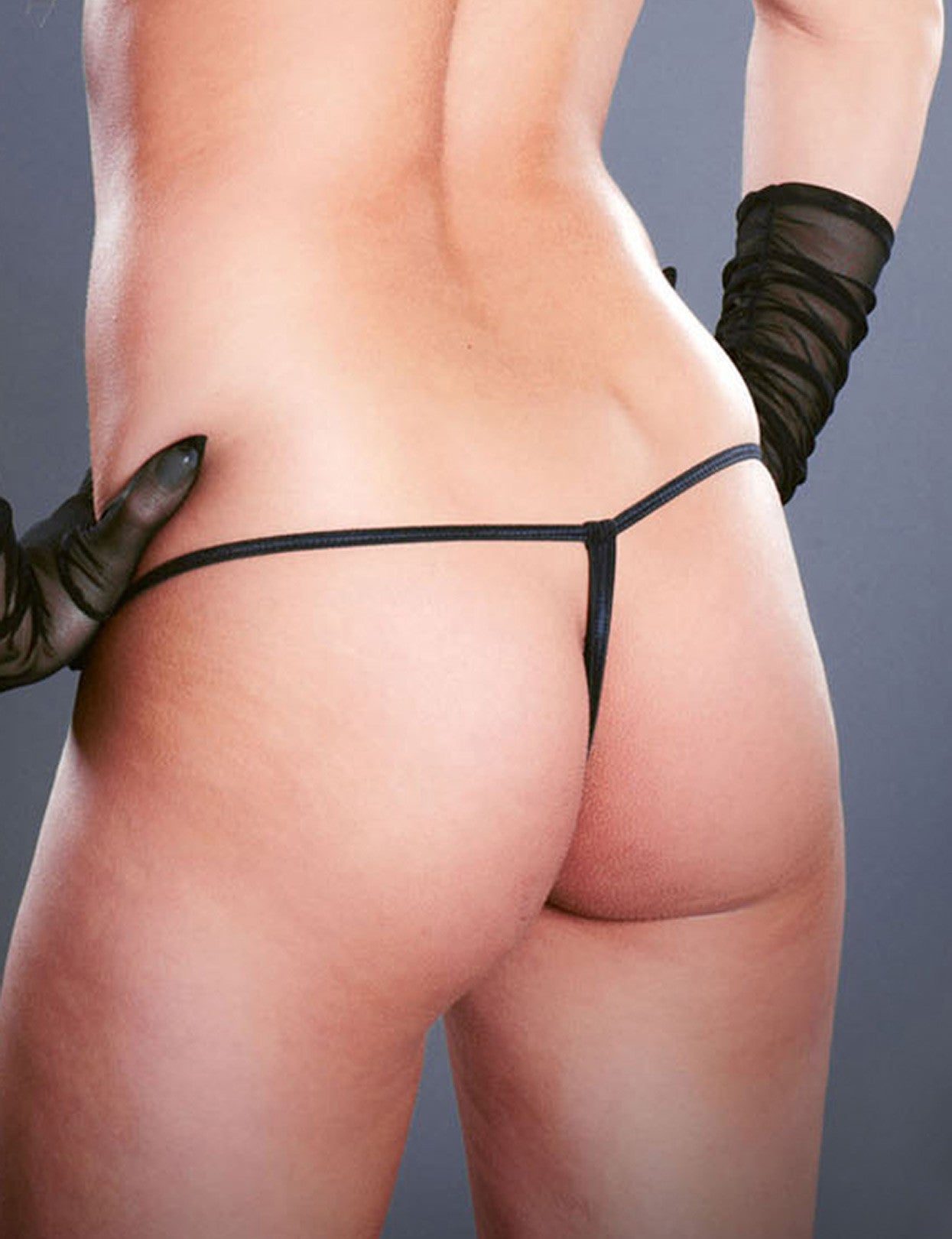 Crotchless Tristring G-string - just damn sexy  - 2