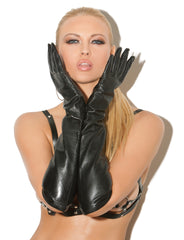 Long Leather Gloves - just damn sexy