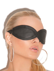Leather Blindfold - just damn sexy