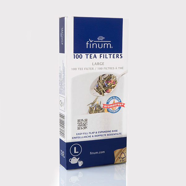 100 TEA FILTERS, biodegradable, size L 1