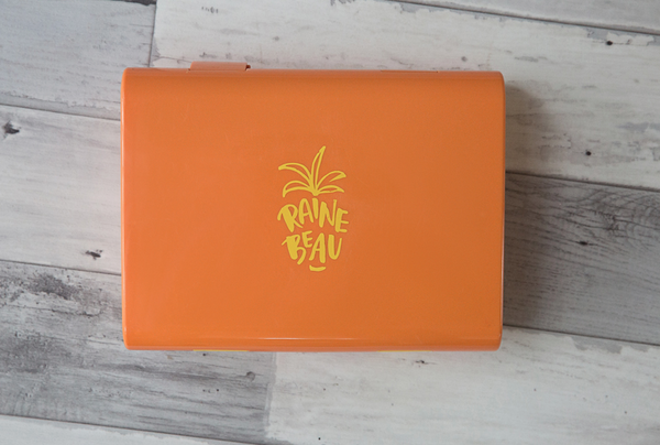 RAINEBEAU ORANGE LUNCH BOX