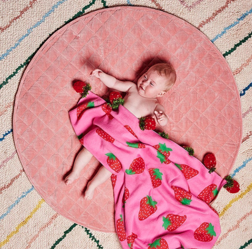 KIP & CO BERRYLICIOUS BABY BLANKET