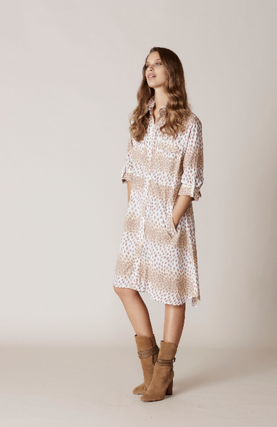 TABBY - SHIRT DRESS