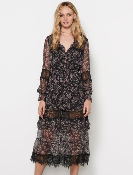Stevie May Henrici Maxi Dress can be worn open as a jacket.