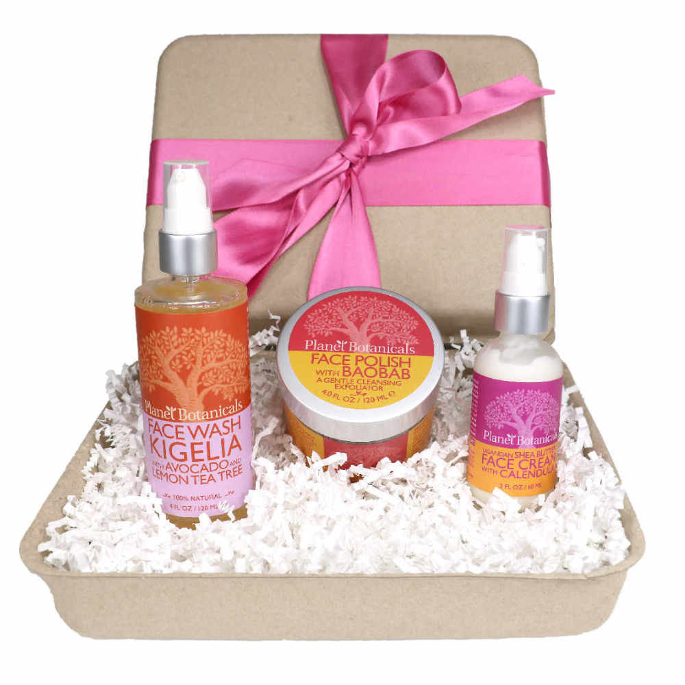 Naturally Glowing Face Care Gift Set