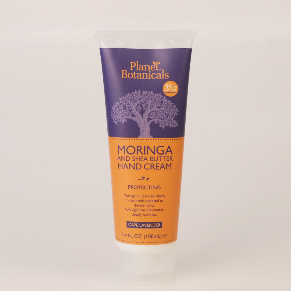 Moringa Hand Cream with Shea Butter and Lavender, Soothing