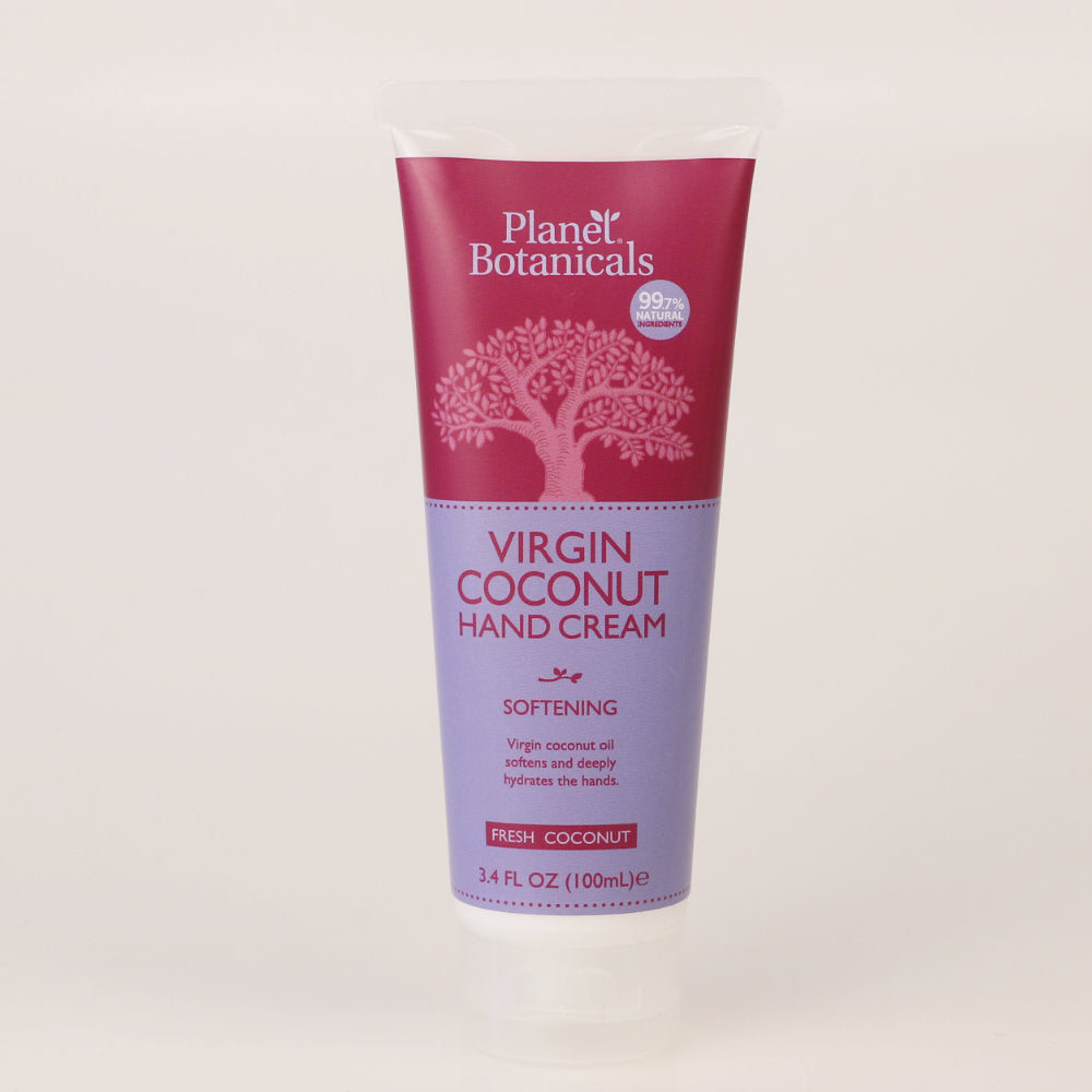 New! Virgin Coconut Hand Cream, 3.4 oz tube