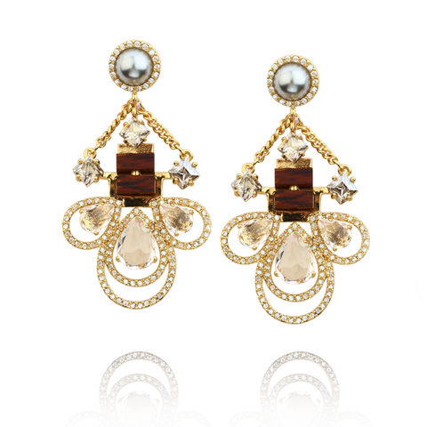 Classic in Joinery Earrings