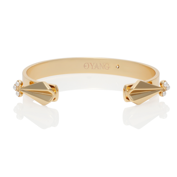 Deco Arrow Bangle