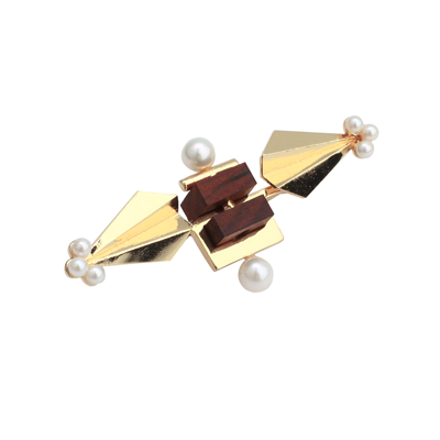 Deco Arrow Brooch