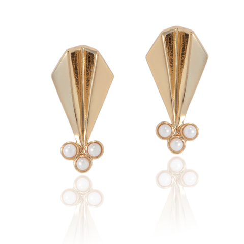 Deco Arrow Earrings