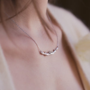LUSH Silver Necklace