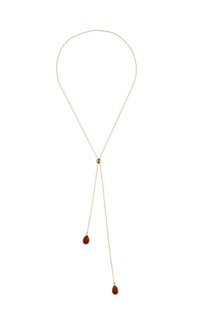 TW Red Long Necklace