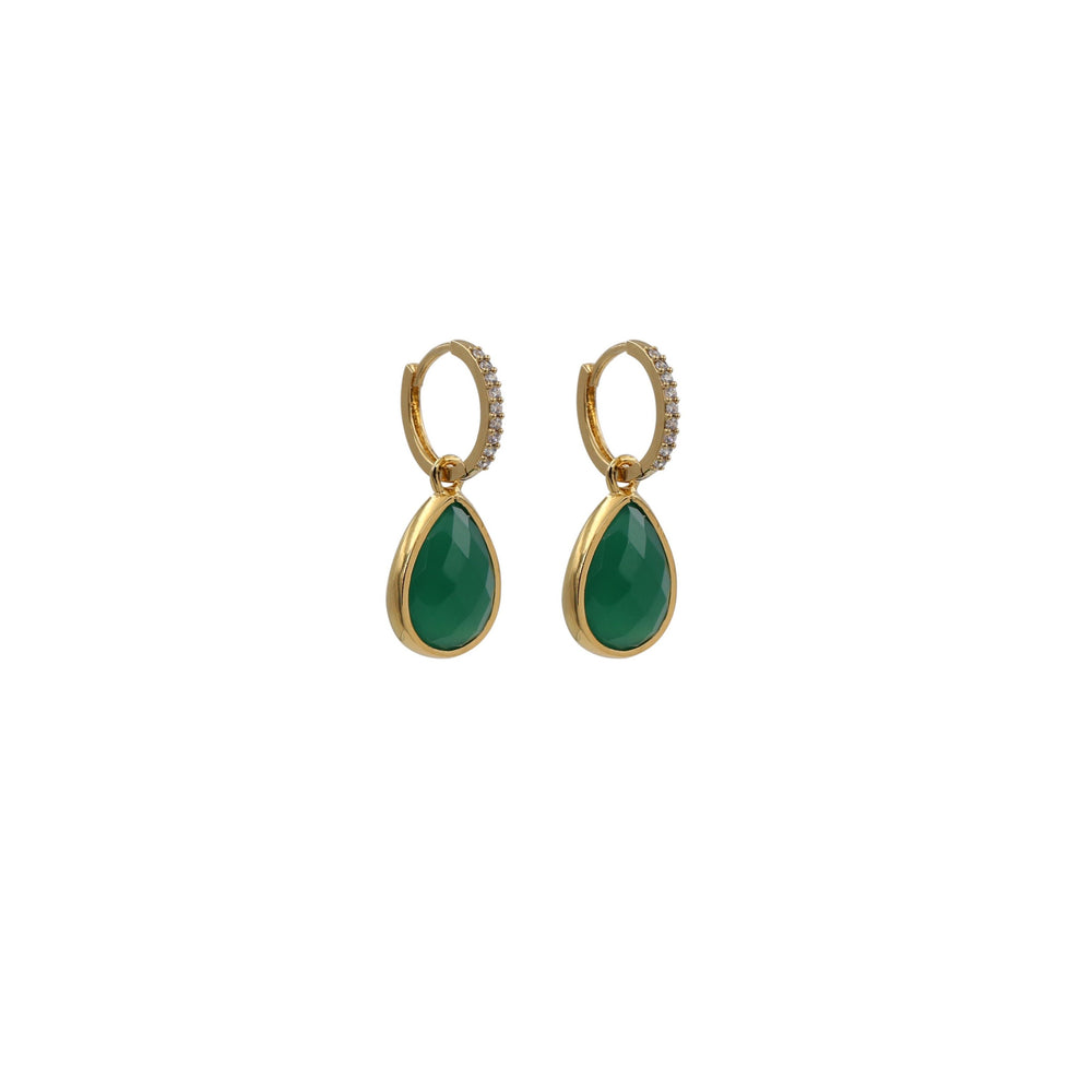 TW Green Earrings