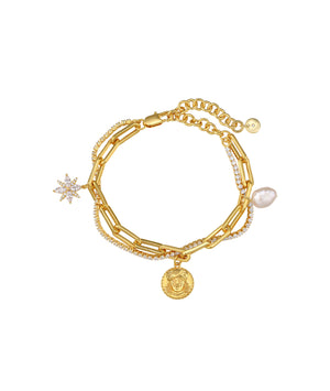 Starlight Gold Bracelet