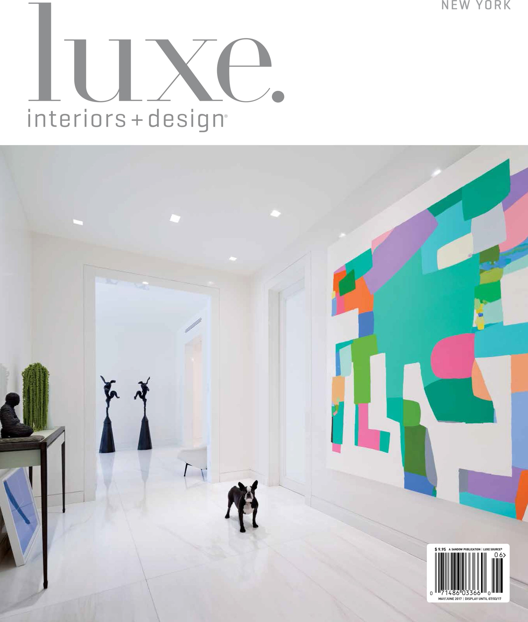 Luxe Interiors+Design May/June 2017