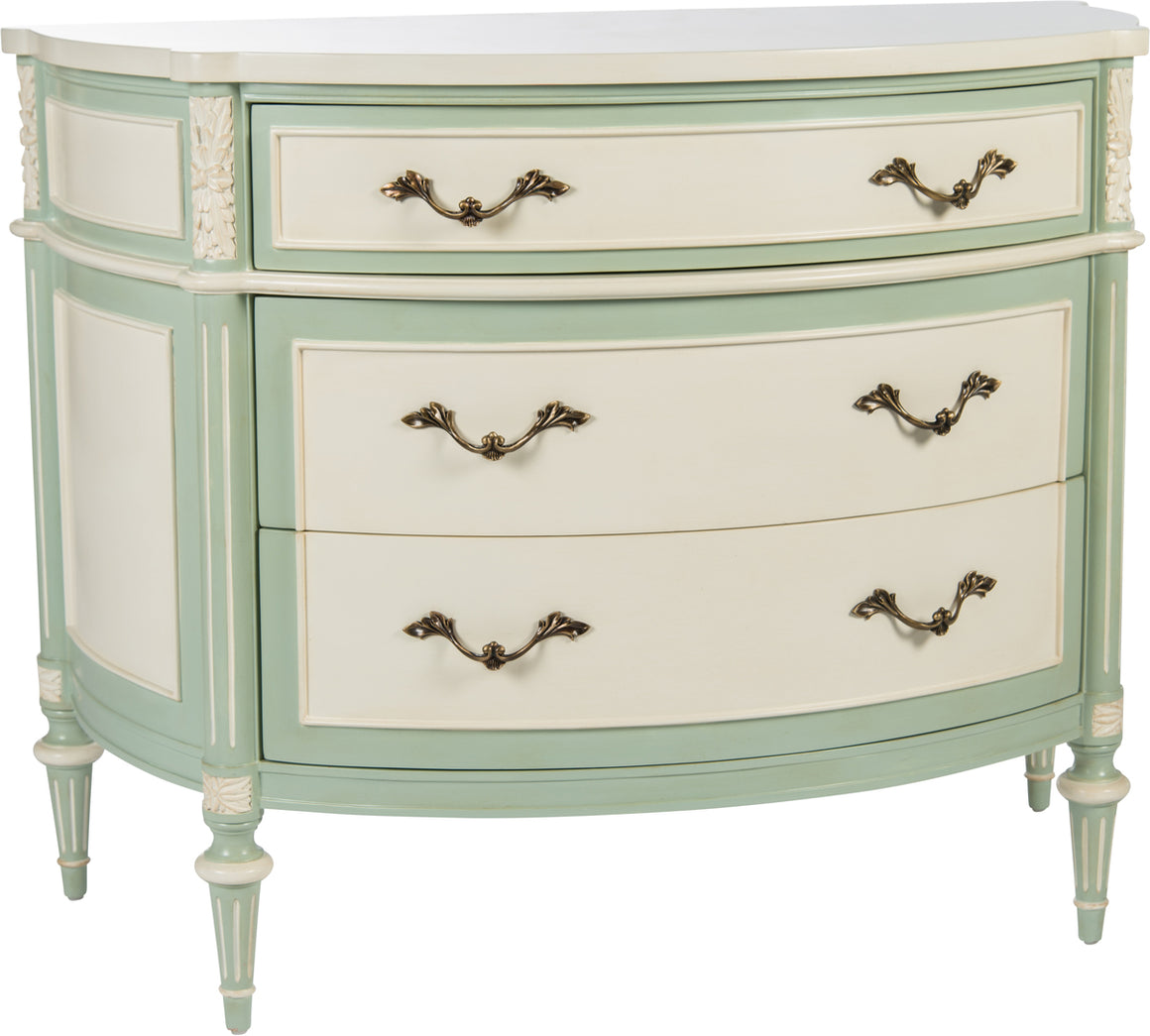 Antique Cream - Mint Commode