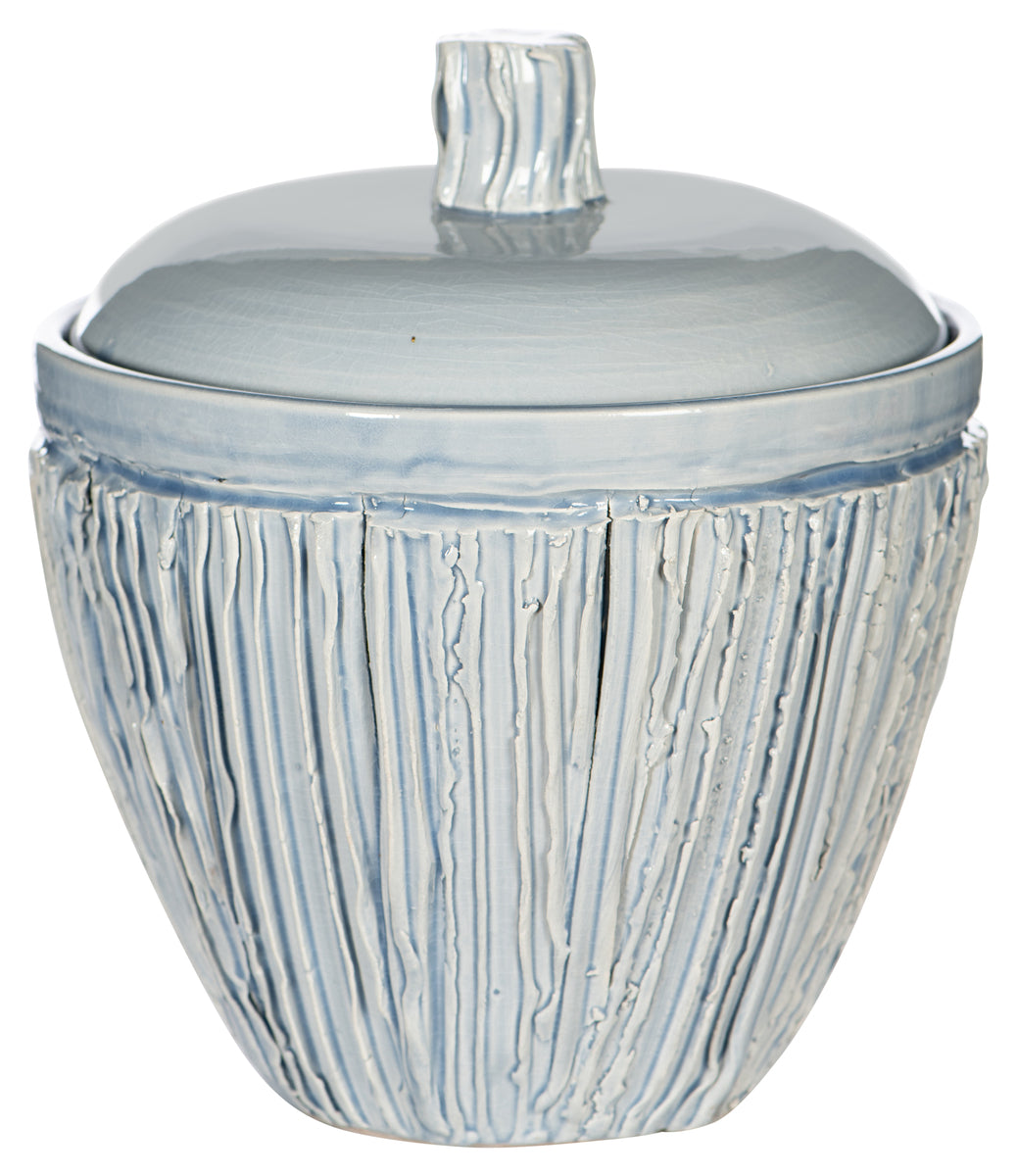 Large Blue Jar