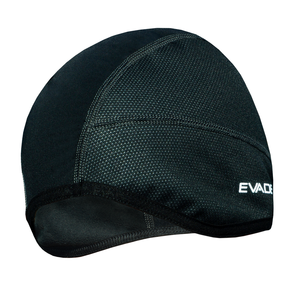 Evade Sport Thermal Cycling Windout Adult Skull Cap - Black