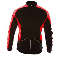 Evade Sport Road Cycling Escape Jacket - Red / Black