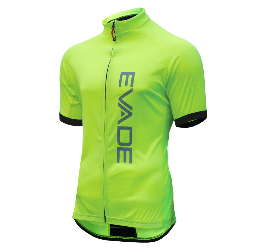 Evade Sport Essentials Short Sleeve Road Cycling Jersey - Neon 929061896