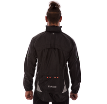 Evade Sport Road Cycling LED Commuter Jacket - Black