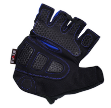 Evade Sport Road Cycling Gel-Flex Short Fingered Gloves - Black