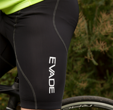 Evade Sport Road Cycling Touring Cycling Bib Short with 3D Gel Pad - Black
