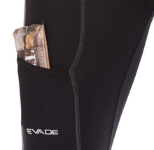Evade Sport Road Cycling Touring Shorts with 3D Gel Pad - Black