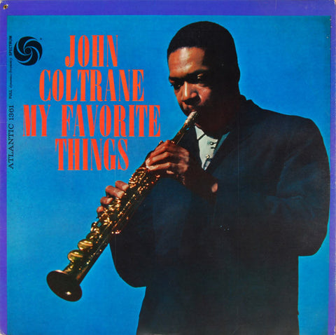 John Coltrane 'My Favourite Things' LP
