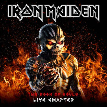Iron Maiden 'The Book Of Souls: Live Chapter' 3xLP