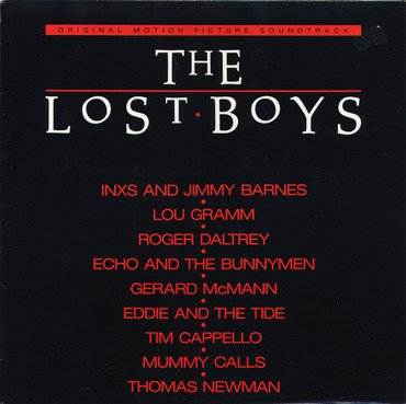 Various 'The Lost Boys (Original Motion Picture Soundtrack)' LP
