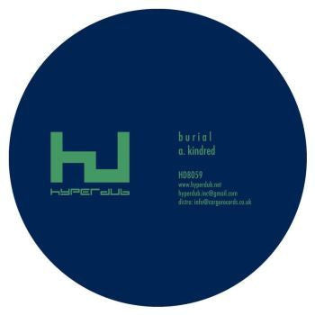 Burial 'Kindred EP' 12""