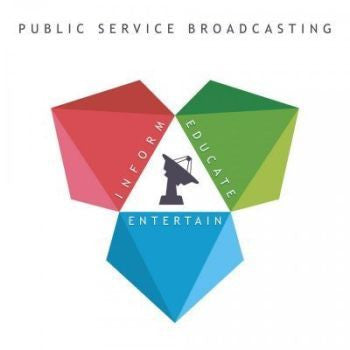 Public Service Broadcasting 'Inform Educate Entertain' LP