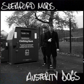 Sleaford Mods 'Austerity Dogs' LP (Red Vinyl Pressing)