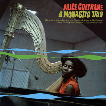 Alice Coltrane 'A Monastic Trio' LP