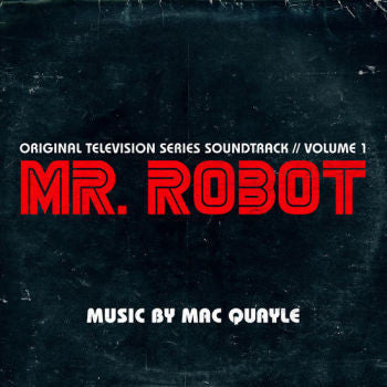 Mac Quayle 'Mr. Robot Season 1 Volume 1 Soundtrack' 2xLP