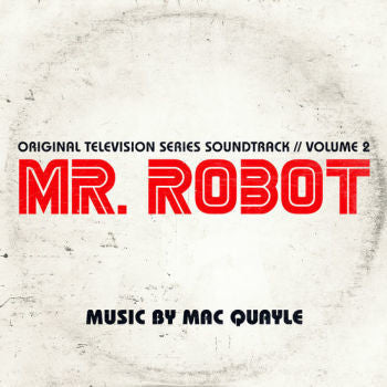 Mac Quayle 'Mr. Robot Season 1 Volume 2 Soundtrack' 2xLP