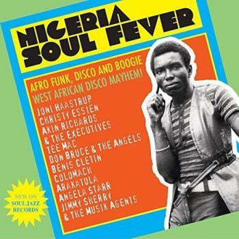 Various 'NIGERIA SOUL FEVER - Afro Funk, Disco And Boogie: West African Disco Mayhem!' 3xLP