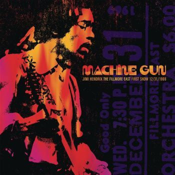 Jimi Hendrix 'Machine Gun: The Fillmore East 12/31/1969 (First Show)' 2xLP