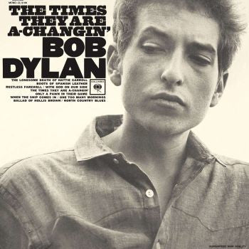 Bob Dylan 'The Times They Are A-Changin'' LP