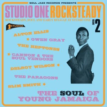Various 'STUDIO ONE Rocksteady 2: The Soul Of Young Jamaica - Rocksteady, Soul And Early Reggae At Studio One' 2xLP