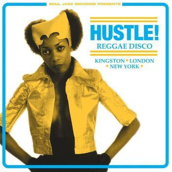 Various 'HUSTLE! Reggae Disco - Kingston, London, New York' 3xLP