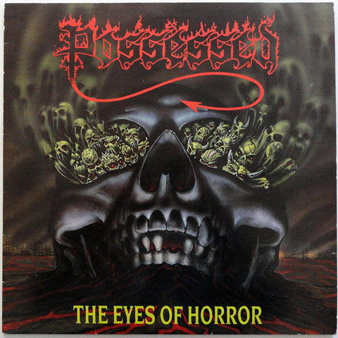 Possessed 'Eyes Of Horror' LP