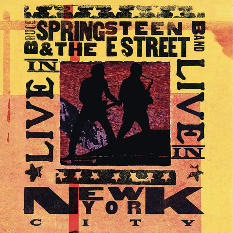 Bruce Springsteen & The E Street Band 'Live In New York City' 3xLP