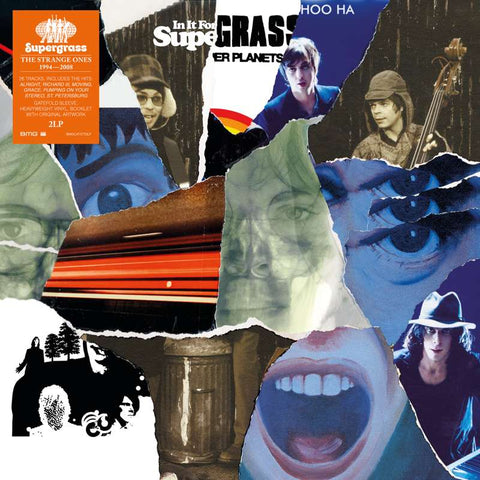 Supergrass 'The Strange One: 1994-2008' 2xLP
