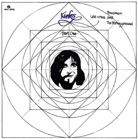 The Kinks 'Lola Versus Powerman and the Moneygoround, Part One' LP
