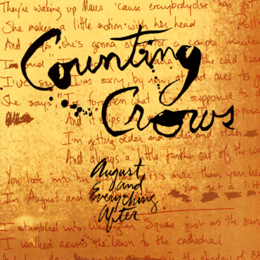 Counting Crows 'August and Everything' 2xLP