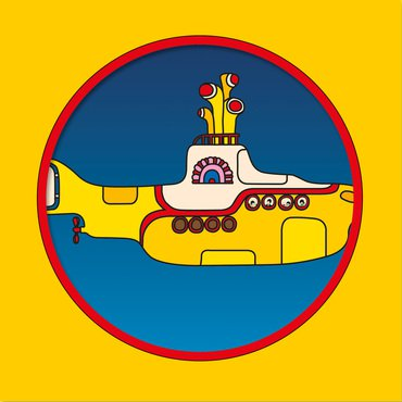 "The Beatles 'Yellow Submarine' 7"" Picture Disc"